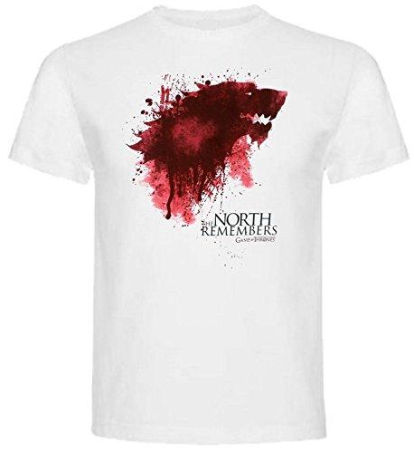 The Fan Tee Camiseta de Hombre Juego de Tronos Stark Tyrion Dragon Daenerys Khaleesi Valar Arya M