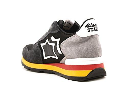 Atlantic Stars sneakers Vega Camoscio Antracite
