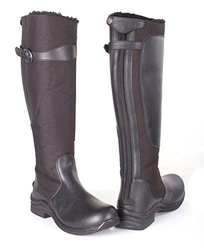 TOGGI Chinook Fleece Lined Boot, Stivali da Equitazione Unisex – Adulto Black