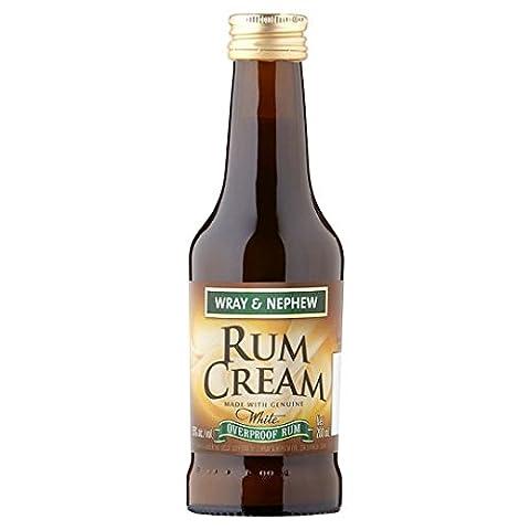 Wray & Nephew Cream Rum, 20 cl, Case of