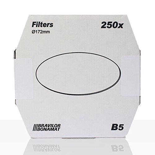 Bonamat B5 Flachfilter 250Stk. 172mm