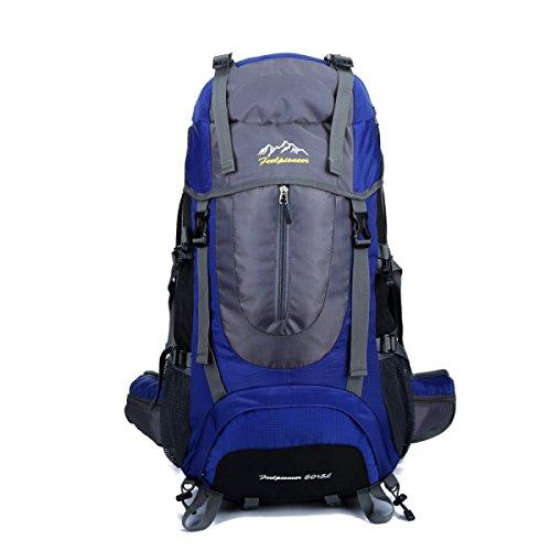Wanderrucksack Berg Taschen Outdoor-Sport-Multifunktions-Reise Blue