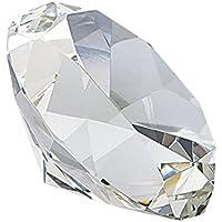 Ten Pisapapeles de Diamante en Vidrio cod.EL35336 cm 9,8x9,8x6h by Varotto & Co.