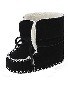 Hunpta Baby Soft Sole Snow Stiefel Soft Crib Schuhe Kleinkind Stiefel mit Samt Schnürsenkel