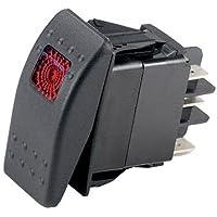 Ancor Marine Grade Electrical sellado interruptor basculante con luz - 554032