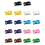 Klickverschluss Farb-Mix Set 5/8