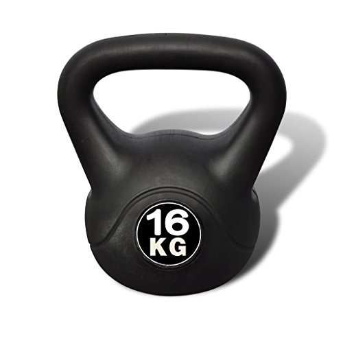 vidaXL Pesa Rusa Kettlebell 16 kg