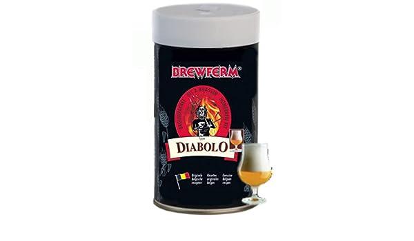 Small Apothekerskast Keuken : Brewferm 1 5kg diabolo starkbier bierkit zum bier brauen: amazon.de