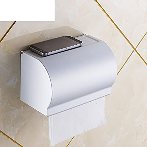 bandeja de la mano/cajas de pañuelos de acero inoxidable/WC titular de papel de seda/caja rectangular baño de agua papel