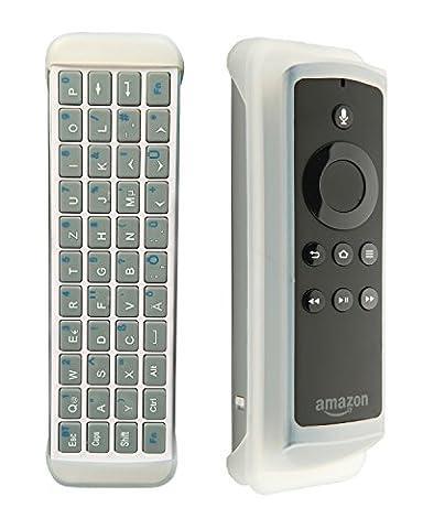 iPazzPort Wireless Mini Bluetooth Tastatur Arbeit für Fire TV Stick zu Typ und Suche QWERTY deutsches Tastaturlayout