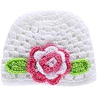 STOBOK Berretto a Cuffia con Cappello in Lana per Bebè Berretto per  Fotografia Cappello Invernale per 1241b775d00d