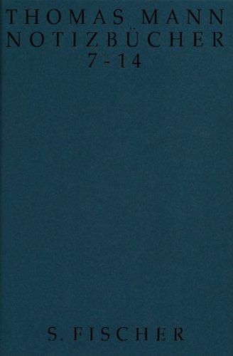Notizbücher 7 - 14