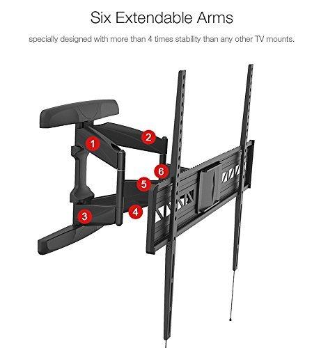 ERGONEER premium rotación Inclinación Escuadra de pared adapta a la pantalla LCD...