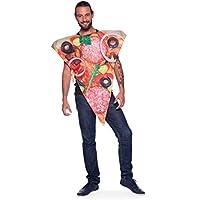 Folat 21991Pizza Disfraz Adulto, multicolor, One size