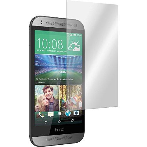 PhoneNatic 2 x Glas-Folie klar kompatibel mit HTC One Mini 2 - Panzerglas für One Mini 2