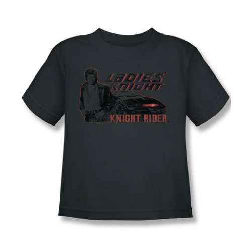 Knight Rider - Juvy Ladies Ritter T-Shirt in der Holzkohle, Large (7), Charcoal (Ritter Holzkohle)