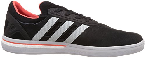 Adidas Skateboarding Adv Boost Trainers core black clear grey solar red