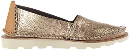 Clarks Damara Chic, Mocassins Femme Multicolore (Gold Metallic)