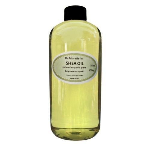 Shea Karite Oil Refined Pure Organic 32 Oz / 1 Quart