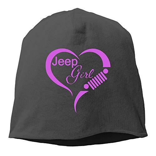 Frauen Stricken tägliche Beanie Mütze Jeep Girl Love Heart Warm Fashion Watch Cap - Stricken Watch Cap