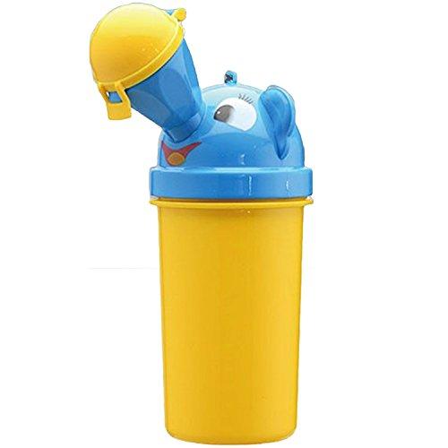 Novità portatile Baby bambino vasino orinatoio Toddler Campeggio vasino formazione auto viaggio wc per ragazzi giallo