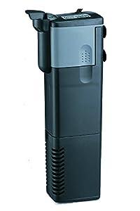 BPS® Pompe submersible, pompe avec filtre pour réservoir de poissons ou d'aquarium, submersible 5W 6 x 4.2 x 22.1CM