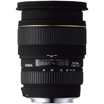 Sigma 24-70mm f/2.8 EX DG Macro Pentax Fit Lens