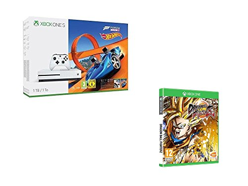 Xbox One S 1 To Forza Horizon 3 + Hot Wheels + DragonBall Fighter Z