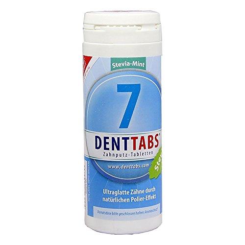 Preisvergleich Produktbild DENTTABS Zahnputztabletten Stevia-Mint mit Fluorid 380 Tabletten