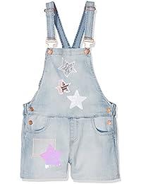 Desigual Vidal, Pantalones Cortos para Niñas, Azul (Denim Light Wash 5007), 128 (Talla del Fabricante: 7/8)