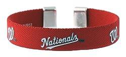 MLB Washington Nationals Ribbon Band Bracelet