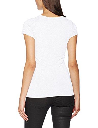 G-STAR RAW Eyben Slim V T Wmn S/S, T-Shirt Femme Blanc (White 110)
