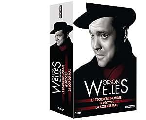 Orson Welles - Coffret - Le troisième homme + La soif du mal + Le procès