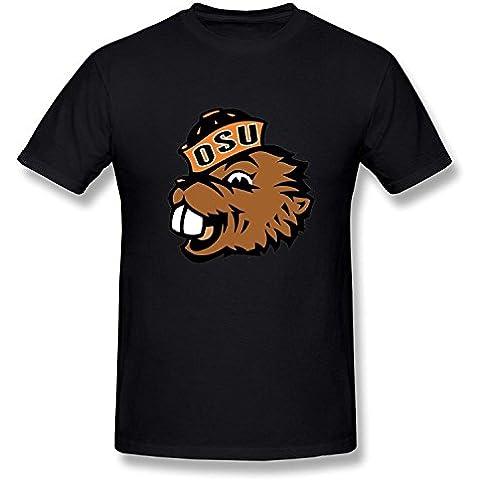 Mens Funny Unique NCAA Oregon State Beavers Logo TshirtsYILIAX14403XXXX-L