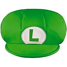 Super Mario–430069–Gorra Niño Luigi–Talla única–Verde