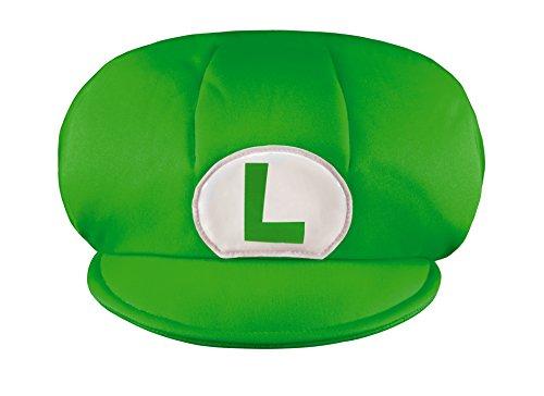 (Unbekannt Super Mario 13370.–Mütze Luigi für Kinder, Grün, Einheitsgröße)