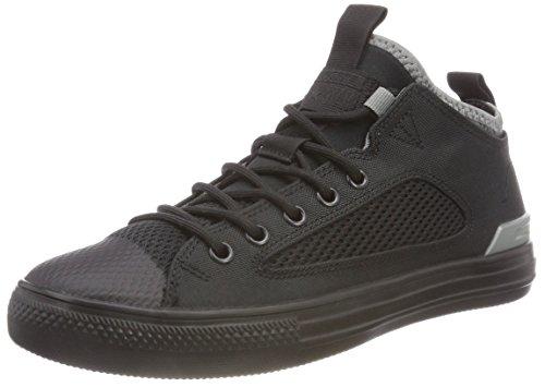 Converse Unisex-Erwachsene CTAS Ultra OX Black/Mason Hohe Sneaker, Schwarz (Black/Black/Mason 001), 40 EU (Schwarz Converse Leder Schuhe)