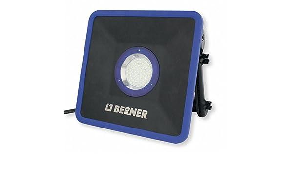 Berner Lampen Led : Berner led strahler black slim plus amazon baumarkt