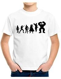 Evolution Avengers Kinder T-Shirt 116 - 164 | Fun | Weiß