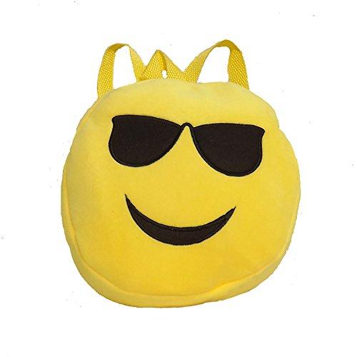 Imagen de esailq bolsos  de emoticon emoji lindo mini para adolescentes mujer niñas estudiantes d