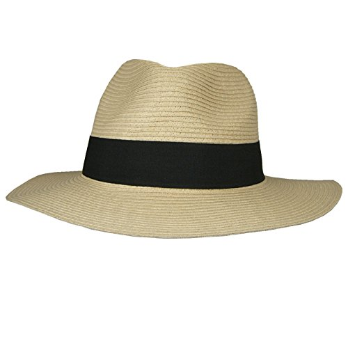 Hey Hey Twenty - Mens   Ladies - Packable Fedora Sun Hat with Travel Tube -  Panama Trilby Style b1e69c873a3