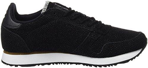 Woden Damen Ydun Pearl Sneaker Black (Schwarz)
