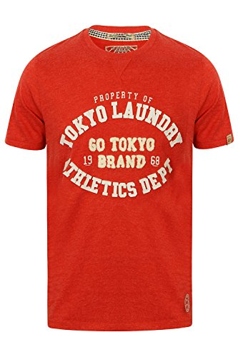 Tokyo Laundry Herren Blusen T-Shirt blau blau Small Tokyo Red