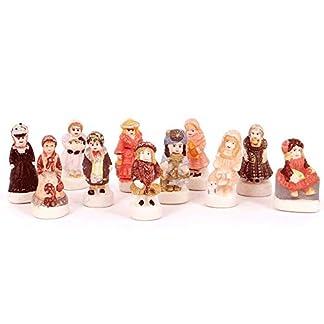 Set 11 encantos de porcelana – Muñecas Antiguas – La Rondes des Pains