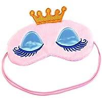 Spaufu süße Cartoon-Schlafmaske mit Kronenmuster, Augenmaske, für Erwachsene und Kinder, Augenklappe, zur Ermüdung... preisvergleich bei billige-tabletten.eu