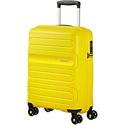 American Tourister Sunside Spinner 55/20 Bagage cabine, 55 cm, 35 liters, Jaune (Sunshine Yellow)