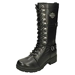 Harley Davidson Womens Harland Leather Boots - 41X7pi 2BAbTL - Harley Davidson Womens Harland Leather Boots