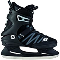 K2 F.I.T. Ice Patines, Hombre, 25C0030.1.1.100, Negro y Gris, 10