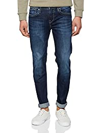 Pepe Jeans  Hatch, Jeans Slim, Homme, Gris (Denim-Z45), W32/L32 (Taille fabricant: 32)