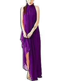KAXIDY Elegante Vestidos Mujer Vestidos de Noche Vestidos de Cóctel Vestido Largo